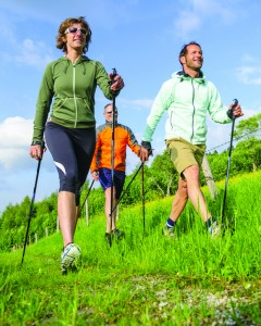 MTB und Nordic Walking